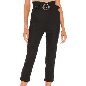 Majorelle Revolve Dickens High Waisted Black Pants